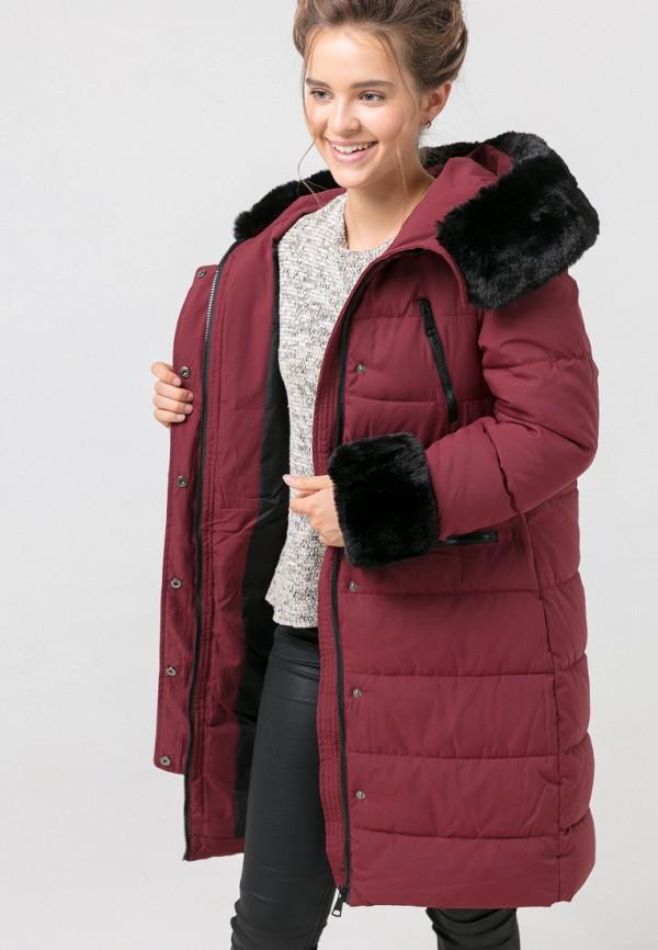 Куртка для девочки утепленная Jan Steen цвет бордовый  Фото 6