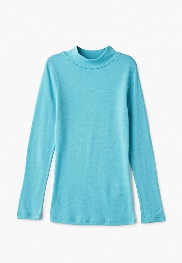термобелье dr.wool для девочки, голубое