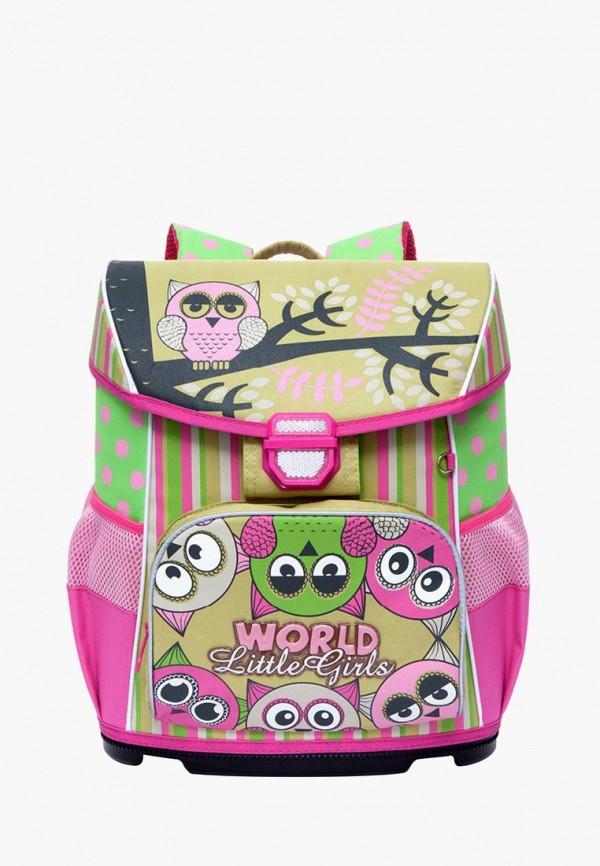 рюкзак grizzly для девочки, разноцветный