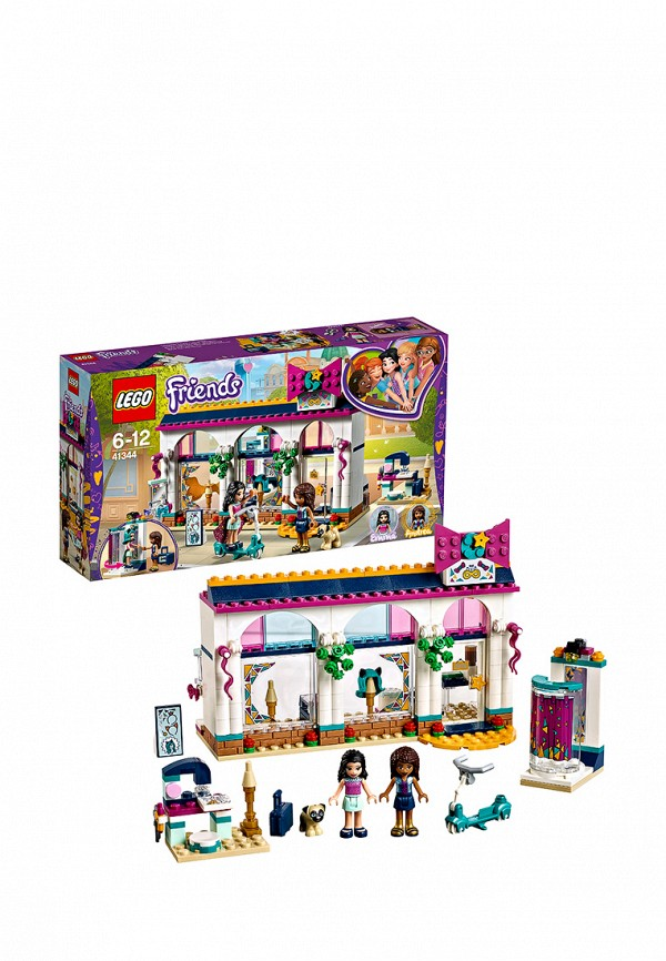 Конструктор Friends Lego Lego MP002XG00D5T конструктор lego friends 41123 салон для жеребят