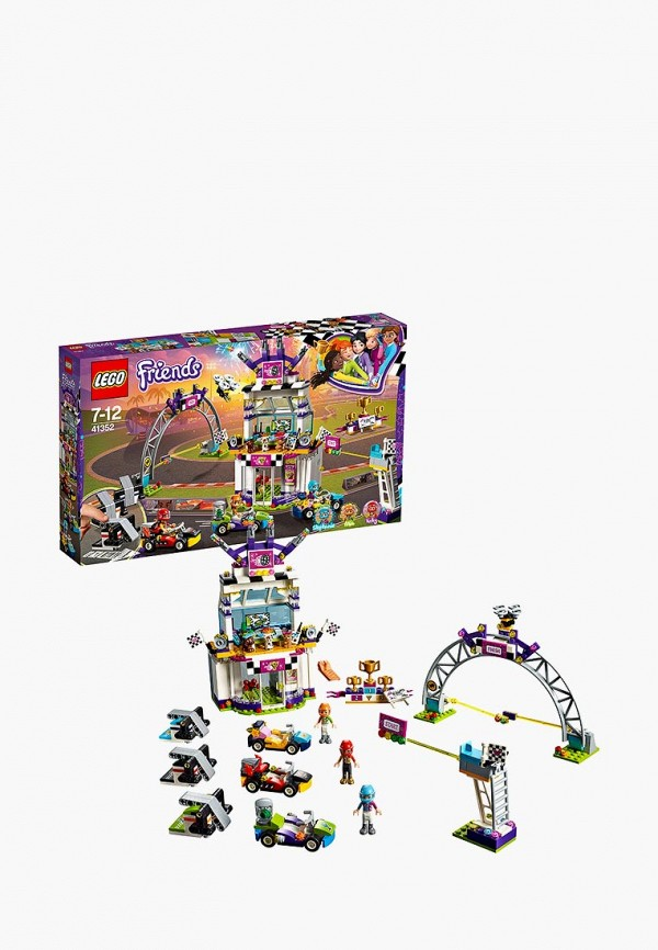 Конструктор Friends LEGO LEGO MP002XG00D5Y конструктор lego friends арт кафе эммы 41336