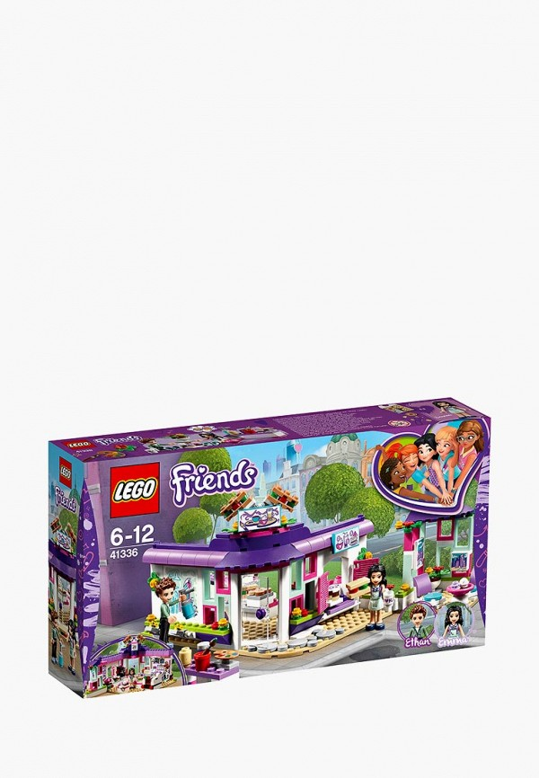 Конструктор Friends LEGO LEGO MP002XG00D6O конструктор lego friends арт кафе эммы 41336