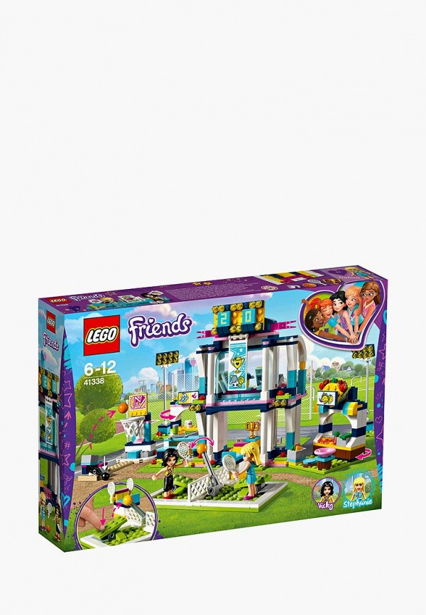 Конструктор Friends LEGO LEGO MP002XG00D6P конструктор lego friends арт кафе эммы 41336