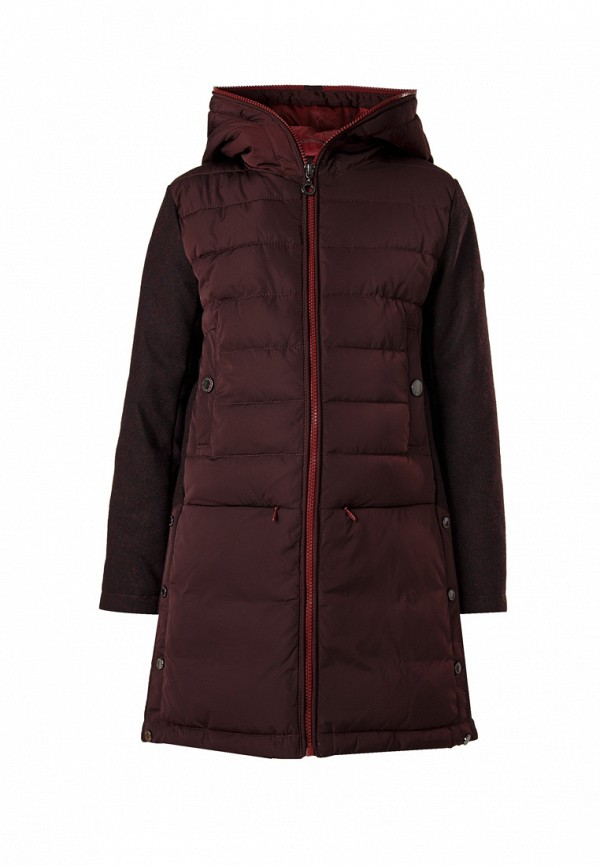Купить Куртка утепленная Finn Flare, MP002XG00D8F, бордовый, Осень-зима 2018/2019