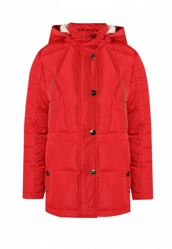 куртка finn flare для девочки, красная