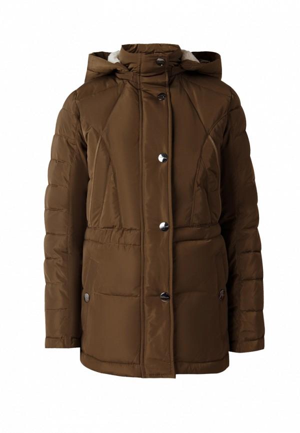 куртка finn flare для девочки, коричневая