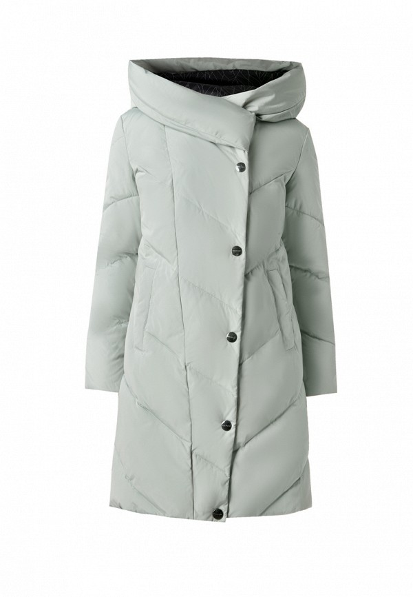 куртка finn flare для девочки, зеленая