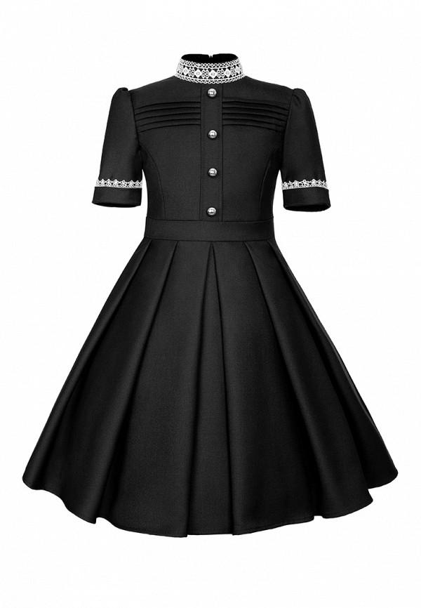 повседневные платье alisia fiori для девочки, черное