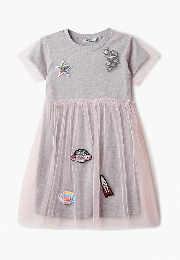 Купить Платье Incity, MP002XG00DCU, розовый, Осень-зима 2018/2019