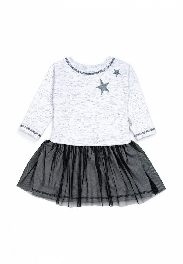 повседневные платье трия для девочки, серое