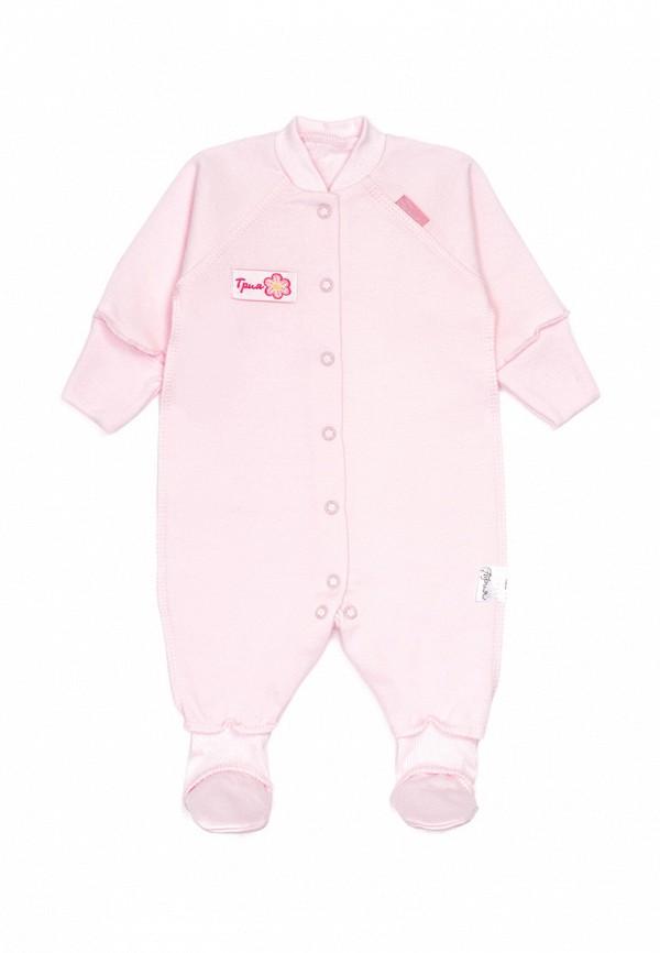Детский комбинезон Трия цвет розовый