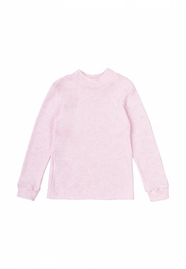 водолазка вітуся для девочки, розовая