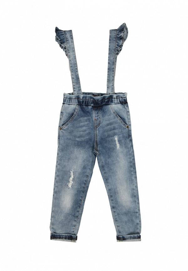 брюки noble people для девочки, голубые