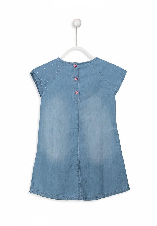 Платья для девочки джинсовое LC Waikiki цвет синий  Фото 2