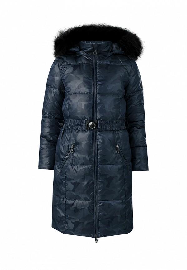 куртка finn flare для девочки, синяя