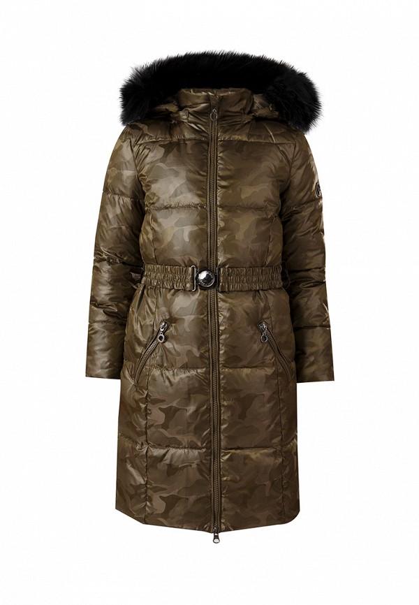 куртка finn flare для девочки, хаки