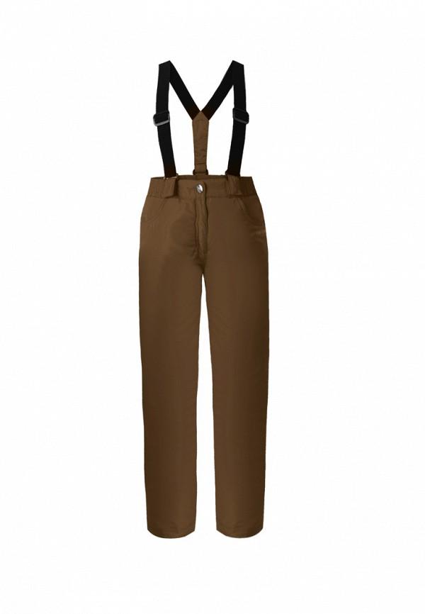 брюки finn flare для девочки, коричневые