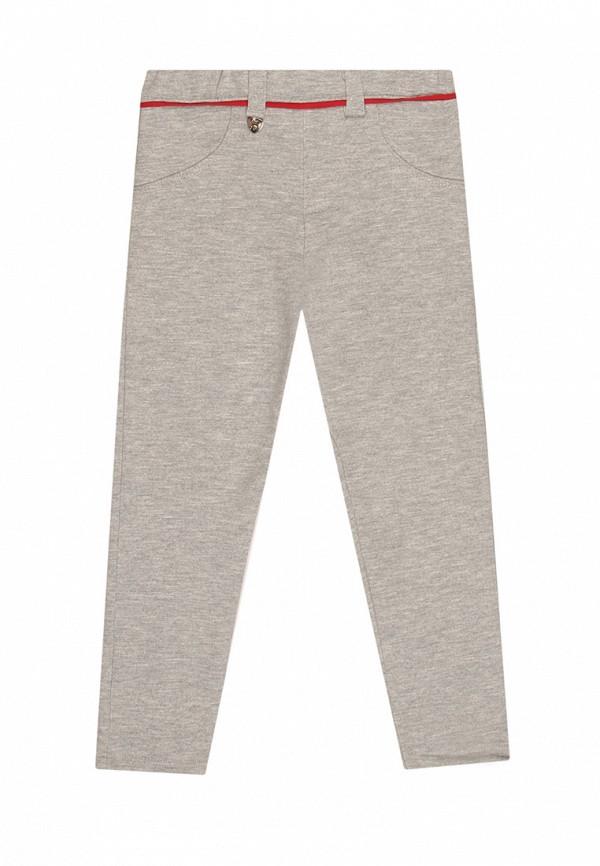 брюки noble people для девочки, серые