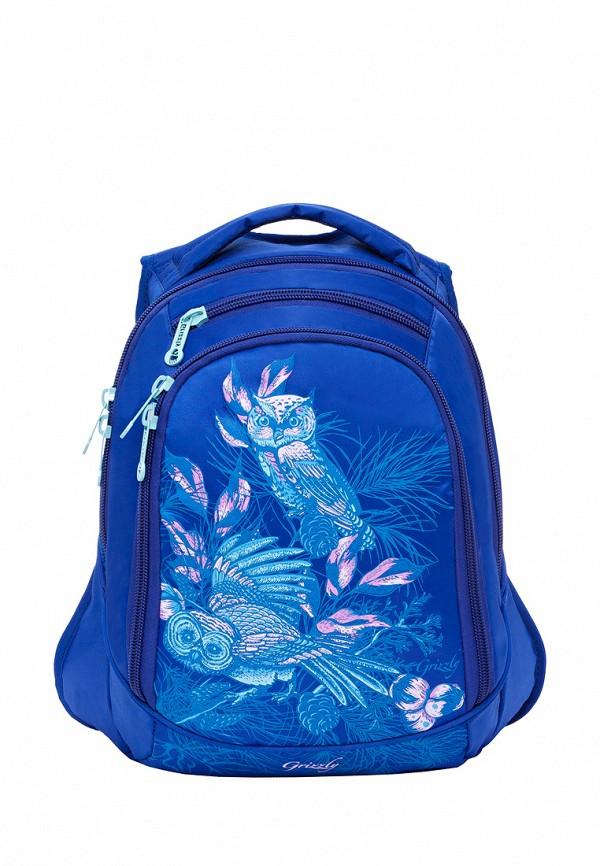 Рюкзак детский Grizzly цвет синий