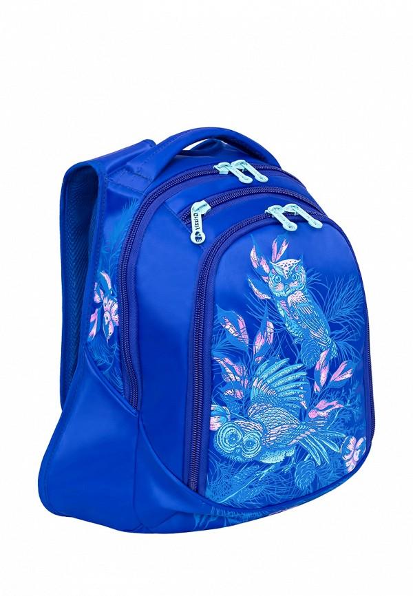 Рюкзак детский Grizzly цвет синий  Фото 2