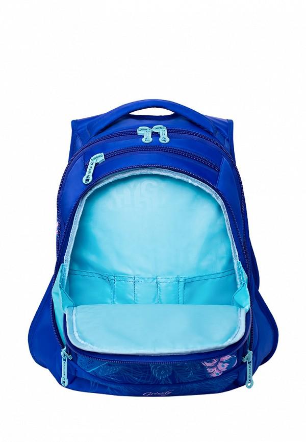 Рюкзак детский Grizzly цвет синий  Фото 4