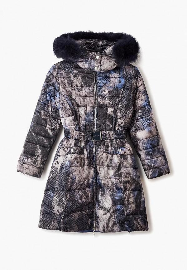 куртка mes ami для девочки, серая
