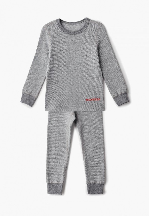 Купить Термобелье Montero, City Line Cotton Comfort Everyday, mp002xg00dqt, серый, Осень-зима 2018/2019