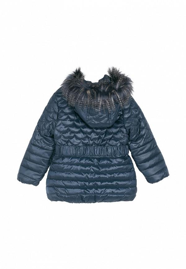 Куртка для девочки утепленная Coccodrillo цвет синий  Фото 2