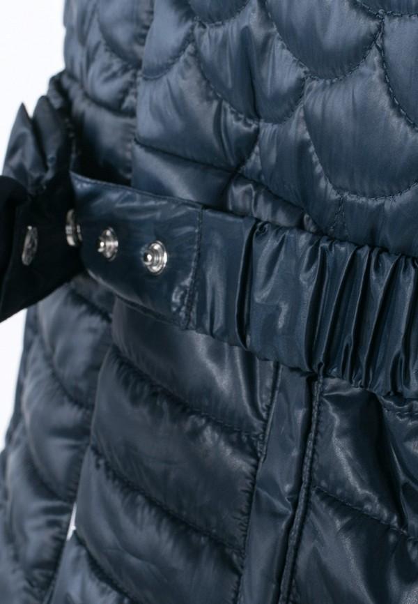 Куртка для девочки утепленная Coccodrillo цвет синий  Фото 3