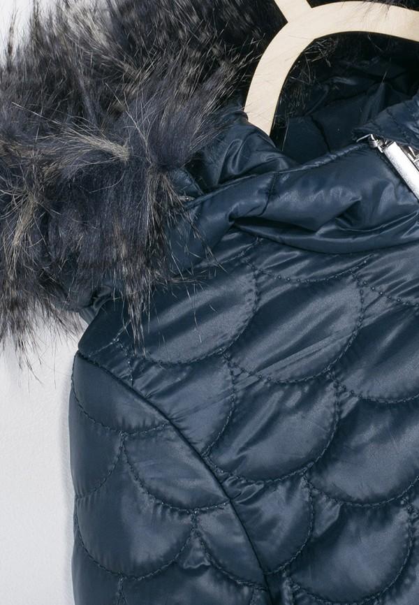 Куртка для девочки утепленная Coccodrillo цвет синий  Фото 4