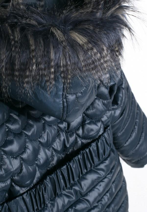 Куртка для девочки утепленная Coccodrillo цвет синий  Фото 6