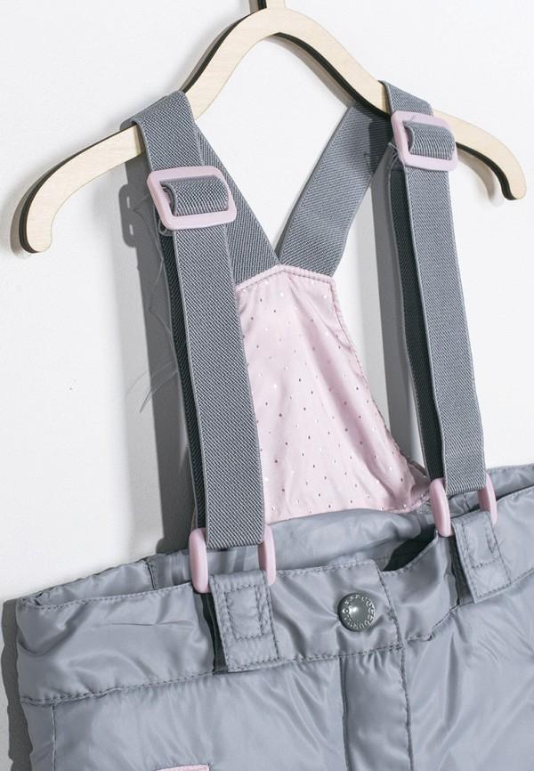 Брюки для девочки утепленные Coccodrillo цвет серый  Фото 3