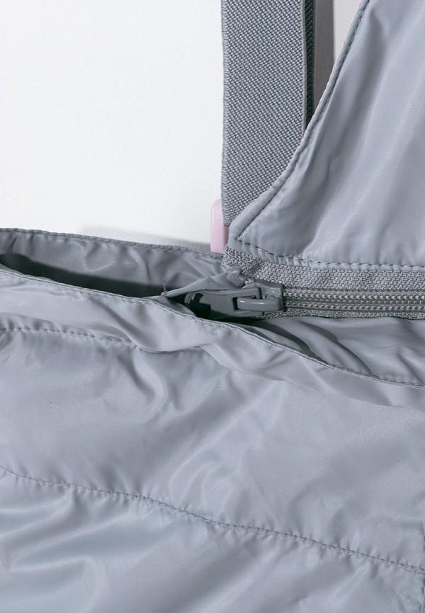 Брюки для девочки утепленные Coccodrillo цвет серый  Фото 5