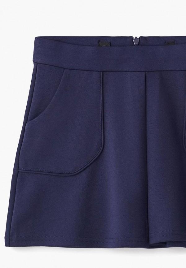 Юбка для девочки Incity цвет синий  Фото 3