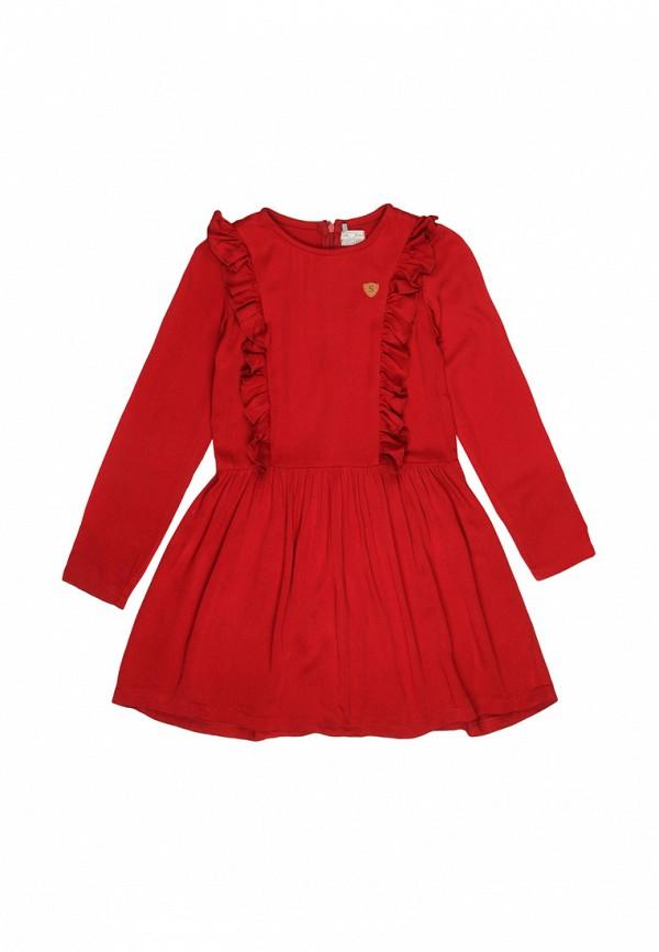 повседневные платье noble people для девочки, красное