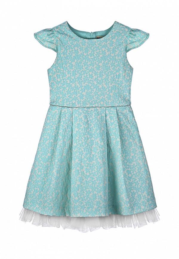 платье balloon & butterfly для девочки, голубое