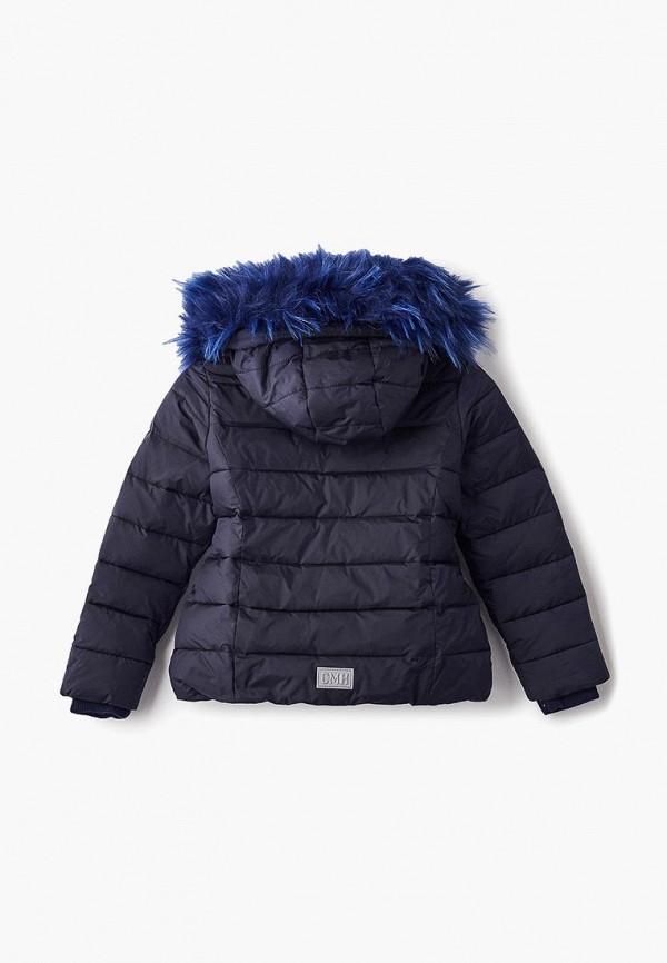 Куртка для девочки утепленная Смена цвет синий  Фото 2