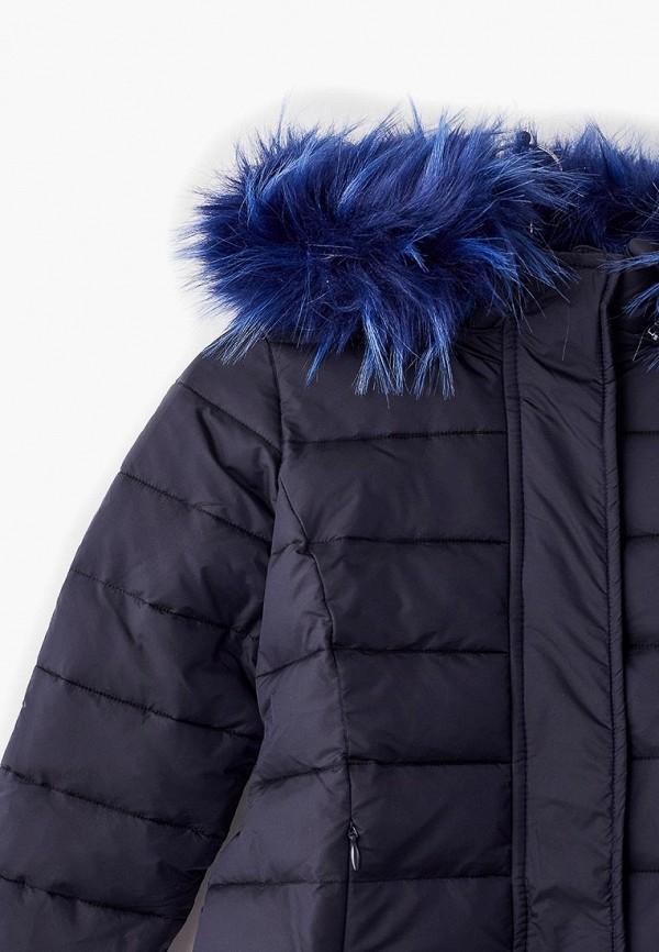 Куртка для девочки утепленная Смена цвет синий  Фото 3