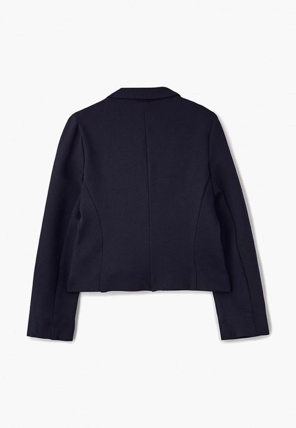 Пиджак для девочки Смена цвет синий  Фото 2