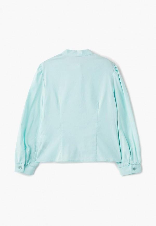 Блуза Смена цвет бирюзовый  Фото 2