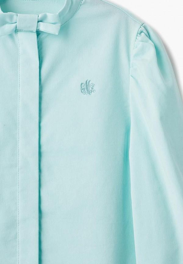 Блуза Смена цвет бирюзовый  Фото 3