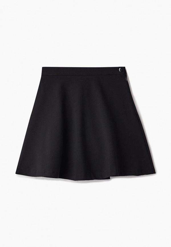юбка смена для девочки, черная