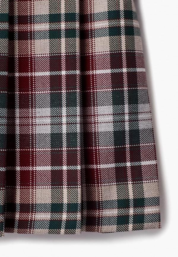 Платья для девочки Смена цвет бордовый  Фото 3