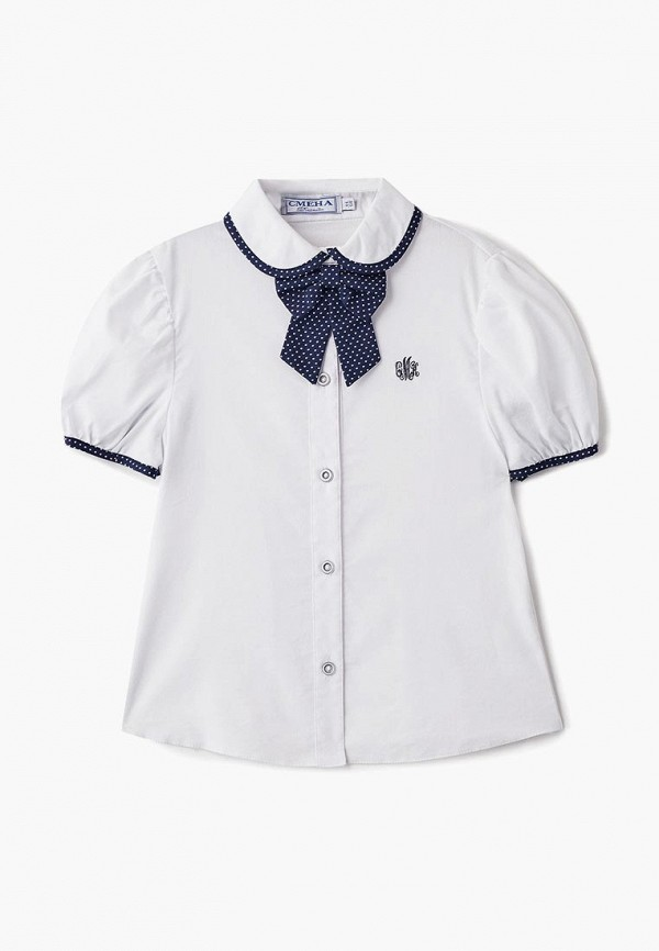 Блуза Смена цвет белый