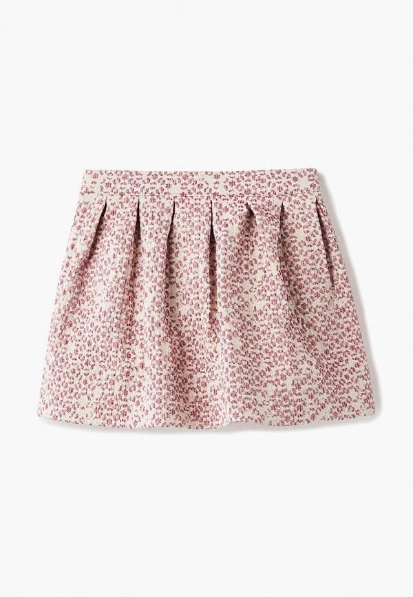 юбка balloon & butterfly для девочки, розовая