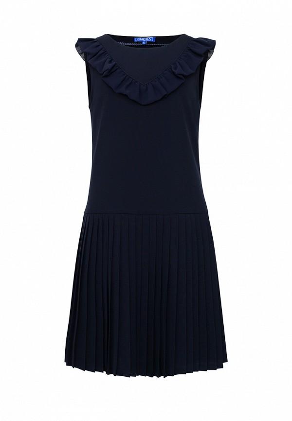 Платья для девочки Смена цвет синий
