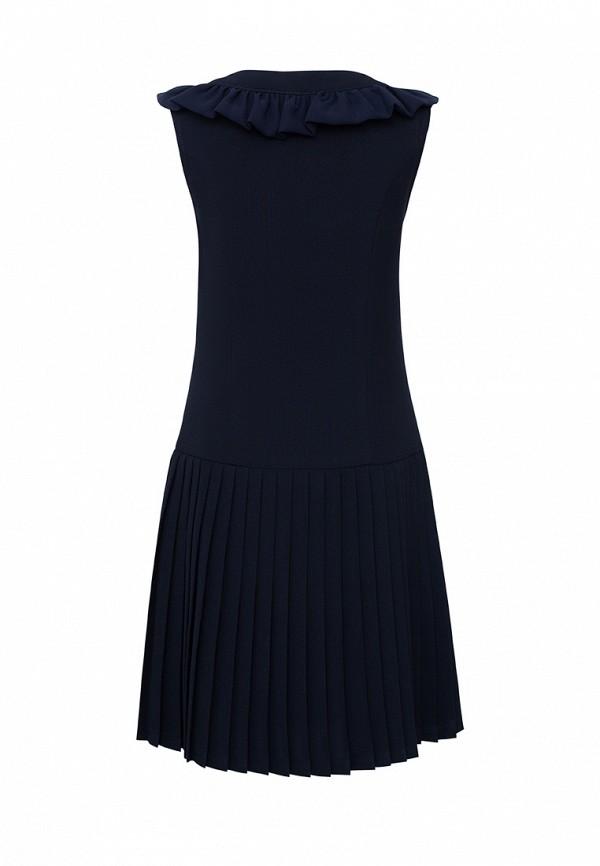 Платья для девочки Смена цвет синий  Фото 2