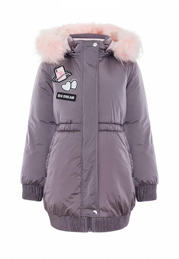 Куртка для девочки утепленная Смена цвет фиолетовый
