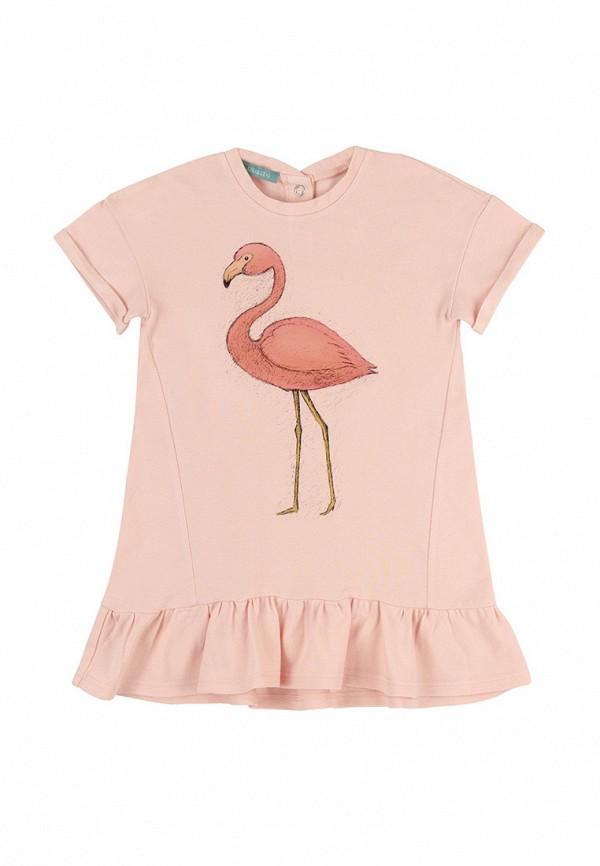 повседневные платье lisa&leo для девочки, розовое