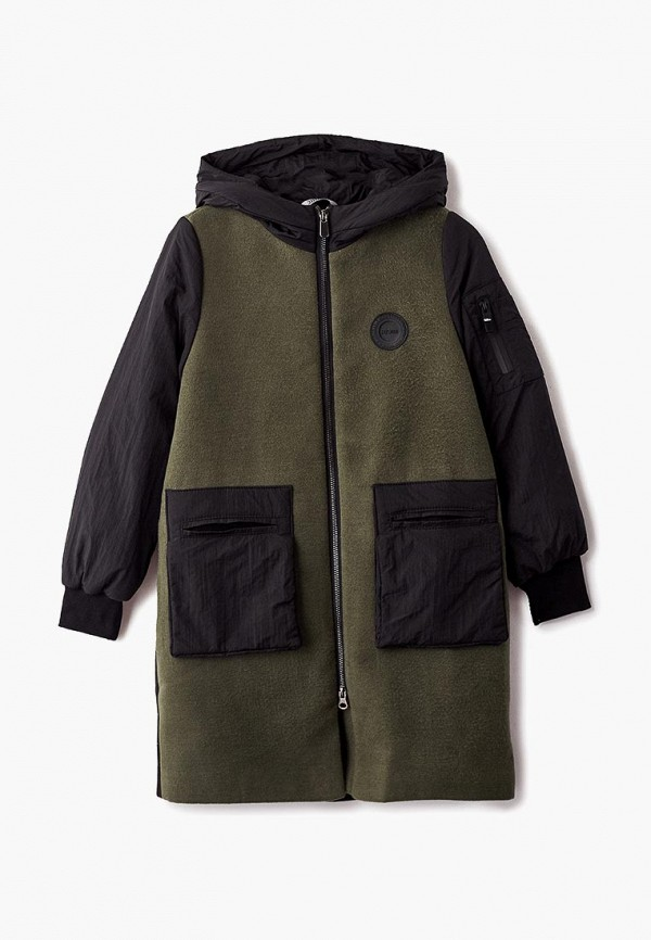 пальто rionakids для девочки, хаки